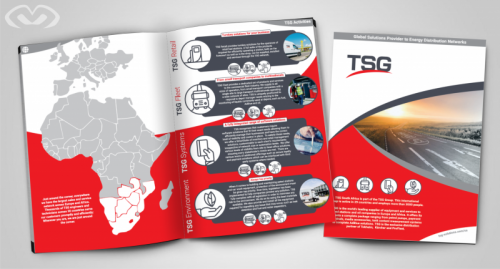 • New Brochure Design for TSG Aouth Africa  2019 •