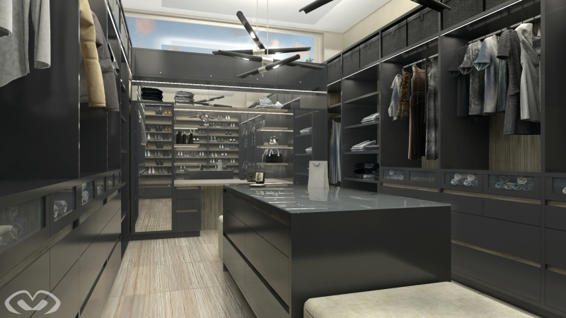 • New Walk-in Closet – Seychelles – Render 2018 •