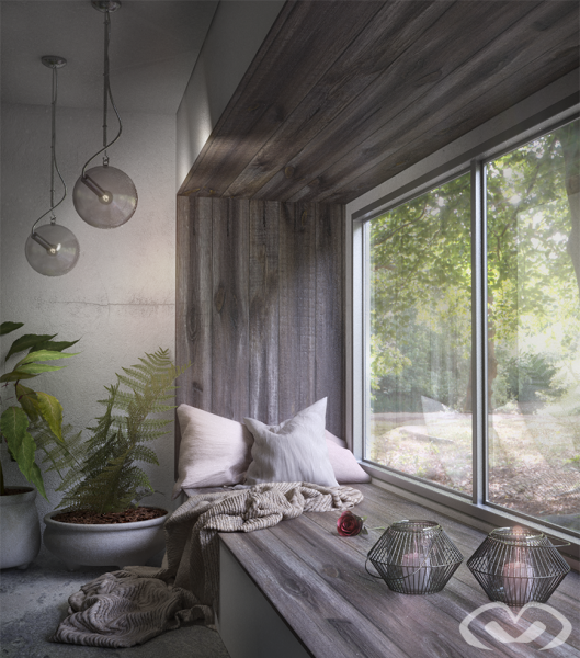 • Concept Design – Reading Nook – Design & Render 2019 •