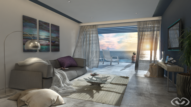 • Concept Design – Beach House – Design & Render 2019 •