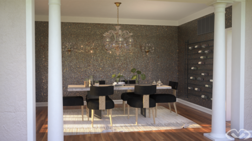 • Renovated Dining Room – America – Render 2019 •