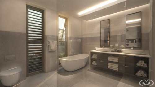 • New Bathroom – Plettenberg Bay – Render 2019 •