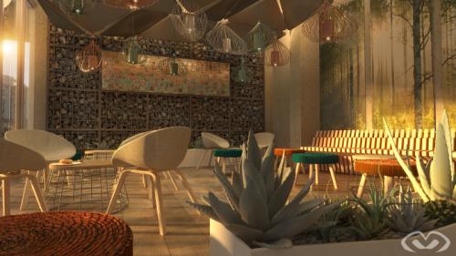 • Concept Design – Waiting Lounge – Design & Render 2019 •