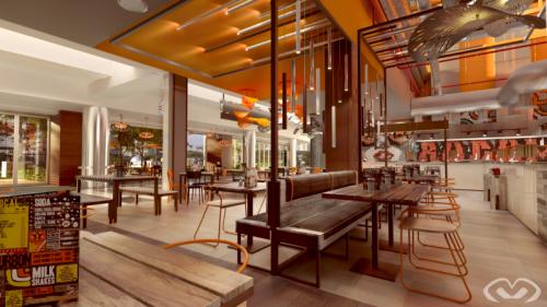 • New Restaurant – Menlyn – Collaborative Design & Render 2018 •