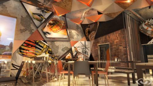 • New Restaurant – Newcastle – Collaborative Design & Render 2019 •