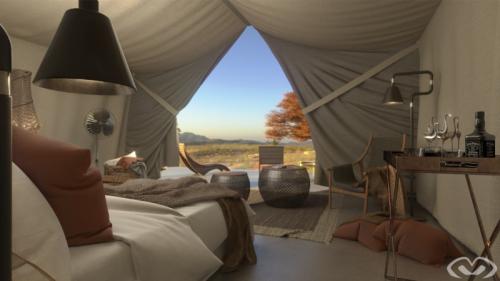 • Concept Design – Luxury Tent – Design & Render 2020 •