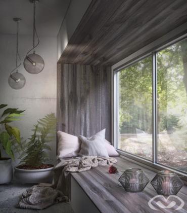 • Concept Design – Reading Nook – Design & Render 2019 •